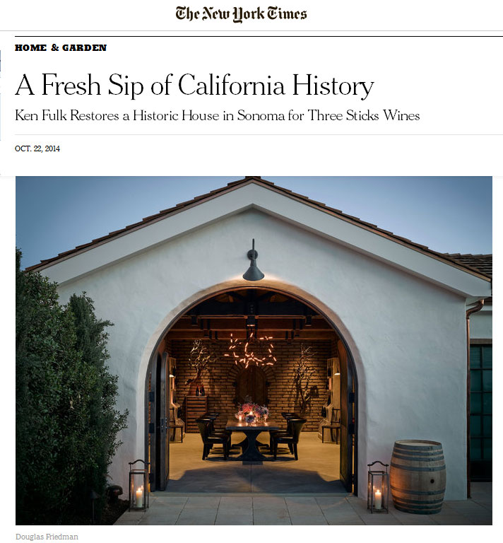 The Adobe featured in the New York Times