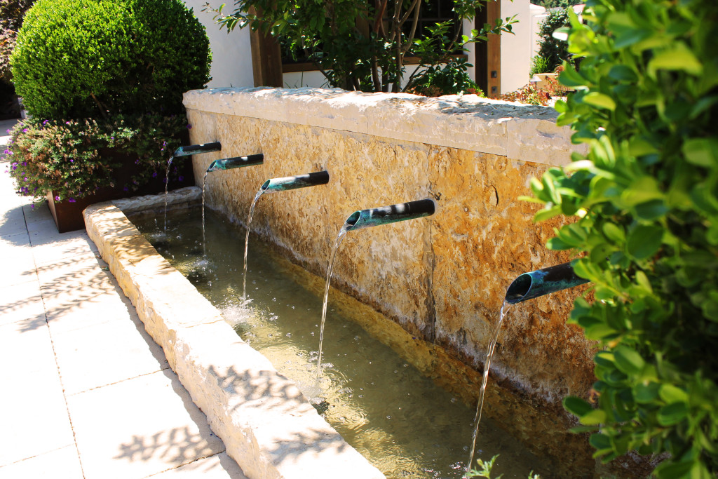 Adobe Water Feature